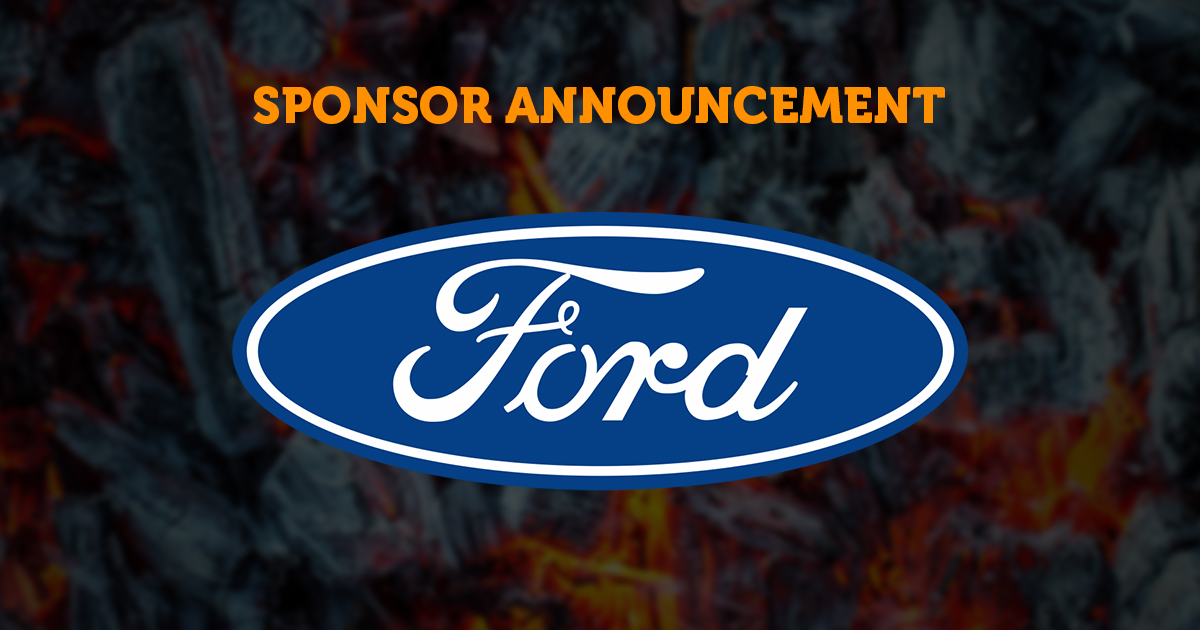 Sponsor Announcement: Ford