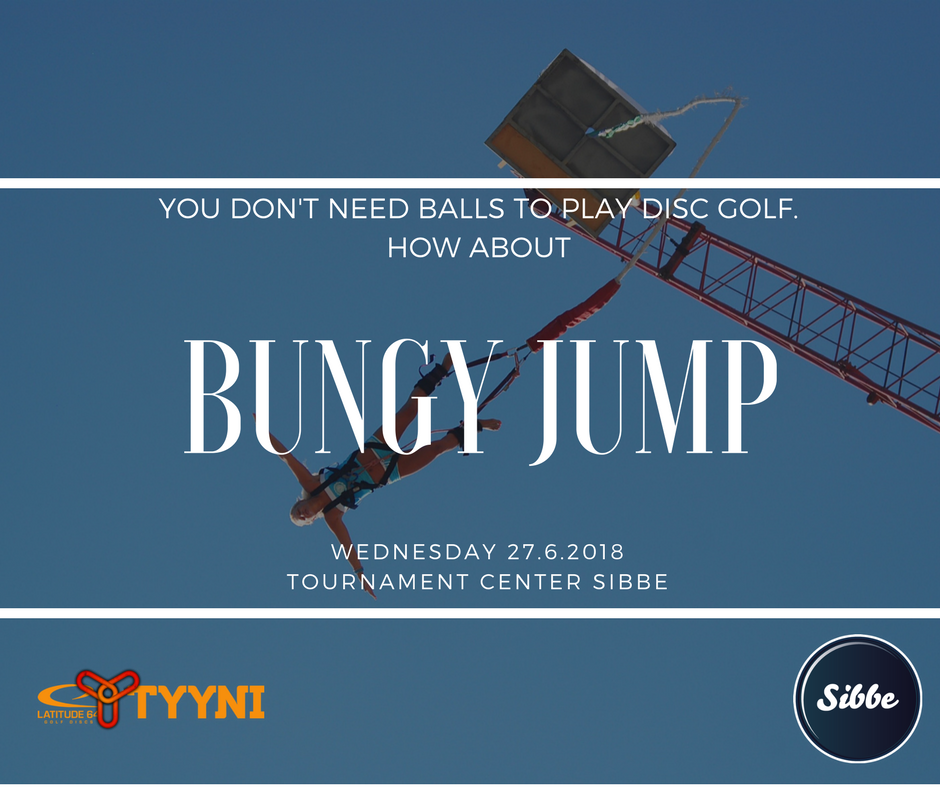 Bungy -jump in Tyyni / Benji-hyppy