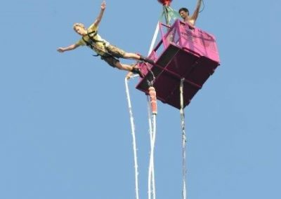 Bungy take off