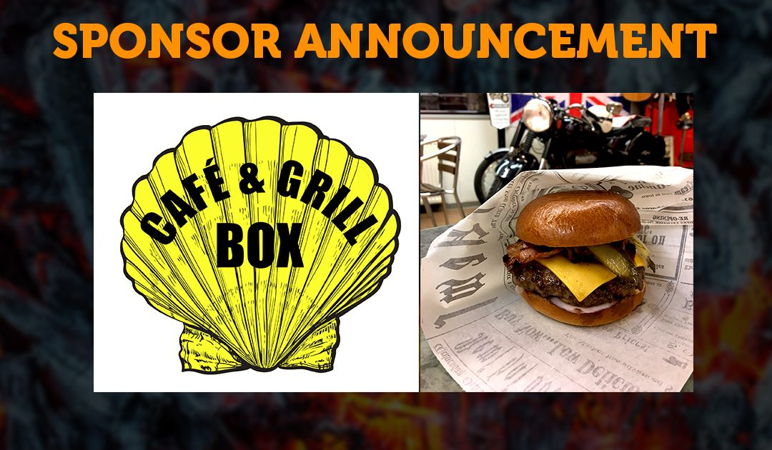 Sponsor Announcement: Box Café & Grill