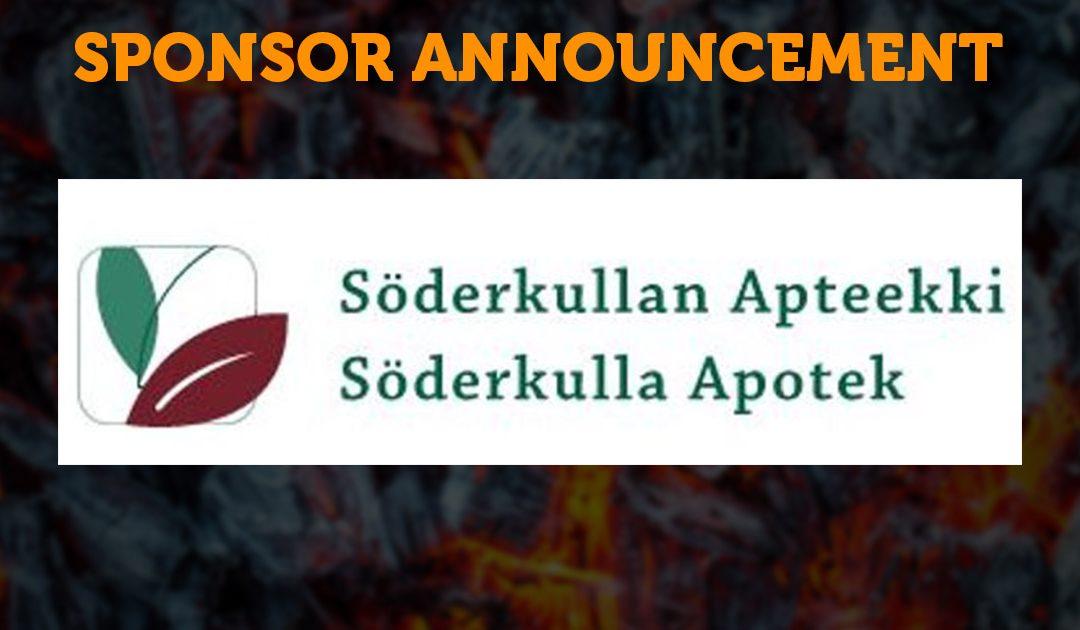 Sponsor Announcement: Söderkullan Apteekki